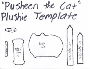 pusheen_the_cat_template_by_grnmarco-d62nox8